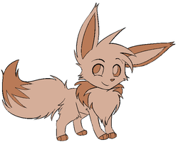 chocolate eevee by SinArtist