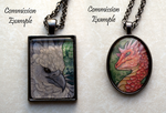 Pendant commissions by thedancingemu