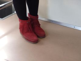 red boots by Shinigami-xiii