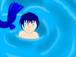 blue merboy by julieanne714226