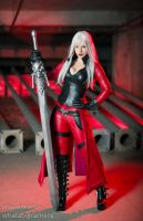 Daughter of Sparda by katyuskamoonfox