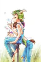 Goat River - Pasture by Innocent-raiN