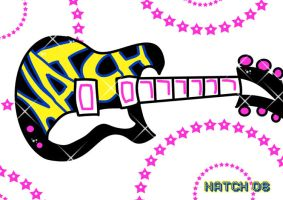 Natch Guitar by greenlikethesky