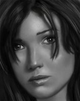 Portrait of some Girl Detail by ReneAigner