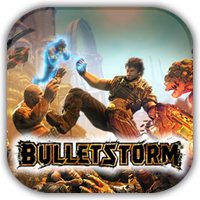 Bulletstorm Game Icon by Wolfangraul