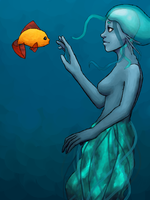 Contest Picture: Mermaid by 1337zombiez