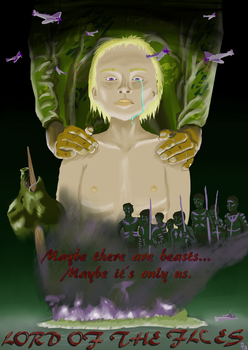 Lord of the Flies movie poster by CYDA-LUVA83