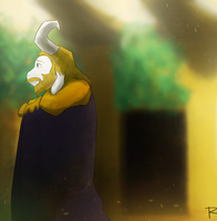 [FANART / ANIMATION] Asgore - The End by rodgealeria