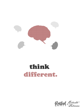 think different by ArtfulEntity
