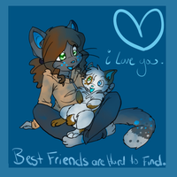 Best Friends. by skinnedwolf