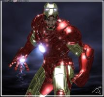 IronMan Another Render by ubald007