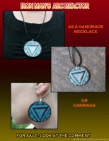 +IronMan's Arc reactor Necklace by LittleLadyPunk