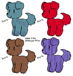 Adopt a cute dog ! [4/4 OPEN] by jays-adoptables