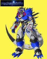 Mechagodzilla redesigned by Skyegojira