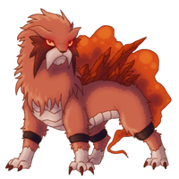 Prototype Entei by Fellduck