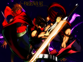 Strider Hiryu Wallpaper by BeeVue