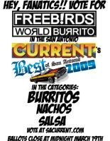 Freebirds Flyer by Berbs42