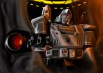 Before the Emperor Megatron by Lateart