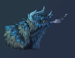 Frost Dragon by jornumgandr