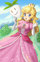 Princess Peach by AthenaWyrm