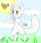 Chris the Kitty-Has fun and spots cute Butterfly by ChrisTheKitty