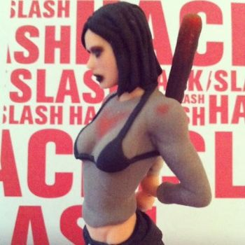 Cassie Hack/Slash collectible by ShouldBee