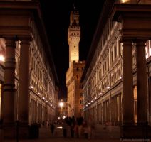 Uffizi Gallery by Fabiuss