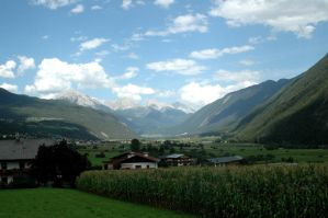 Valley in the Austrian Alps by BlokkStox