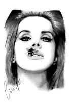 Lana Del Rey by SweetSophie
