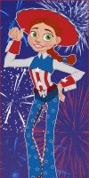 American Doll by Violette-Aner