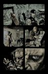hellblazer 260 page 2 colours by gammahed