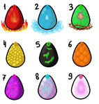 Egg Adopts - OPEN by 102vvv