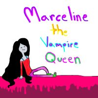 Marceline the vampire queen by jarofhearts12