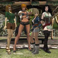 The Girls of Belm Village by KoDraCan