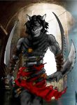 The furry prince of Persia by Max-Dragon