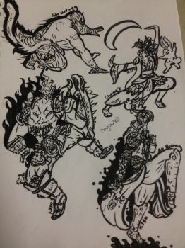 Smite Chinese Martial Arts by kagra280