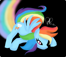 .:Rainbow Race by Asikku