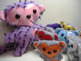 Tribe of Love monkeys by andricongirl