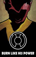 Sinestro by Iconograph