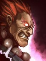 Akuma Study by Art-by-Smitty