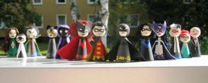Cones: Bat-Family by Poison-Harley