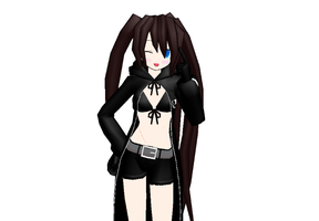 Black Rock Shooter-MMD by Black-Rock-Shooter1