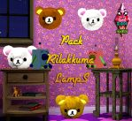 Pack Rilakkuma LampS by RainboWxMikA