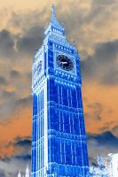 Inverted Clock Tower by winter-KIRA