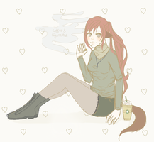 coffee and cigarettes. by bleachii