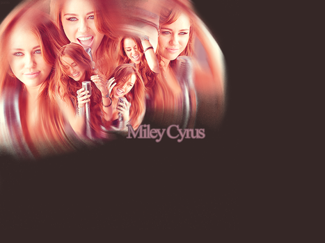 Miley Cyrus collage by Marssie