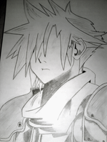 Cloud Strife (unfinished) by PirateBoyo
