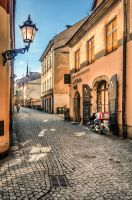 paved street by marrciano
