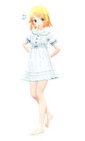 Rin commission dress by YamiSweet