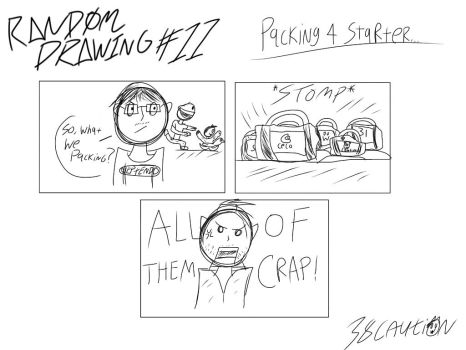 Random Drawing #11 - Packing 4 Starter by 38Caution
